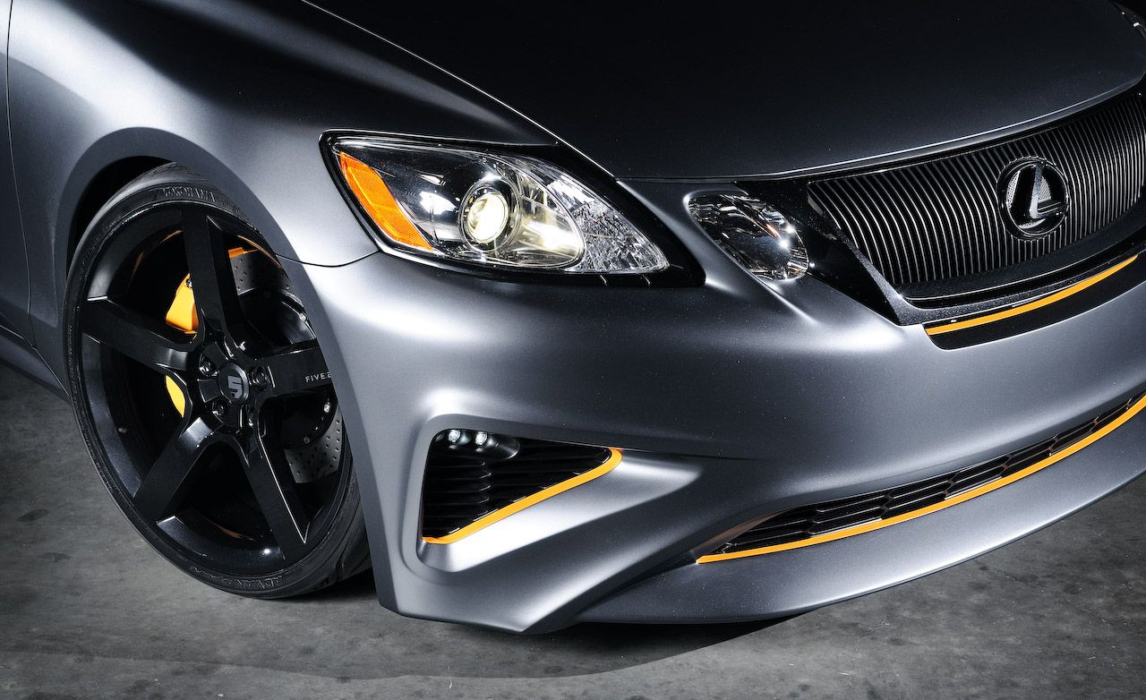 Five Axis Project Lexus GS