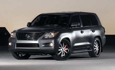 Lexus LX570 by ICON 4x4 Design