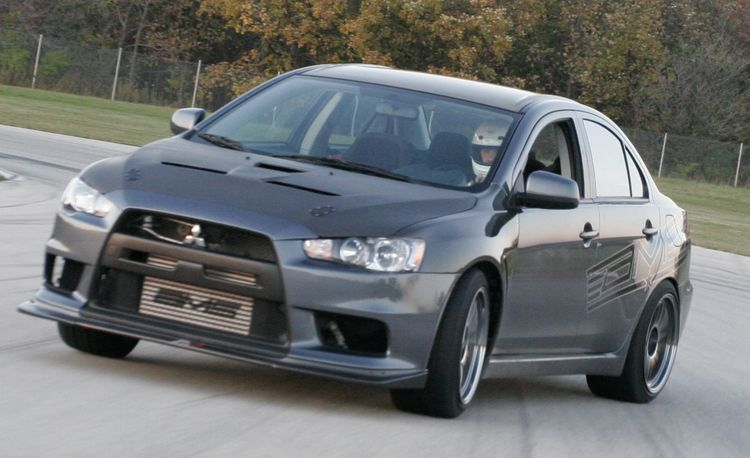 Mitsubishi Lancer Evolution GSR by AMS Performance