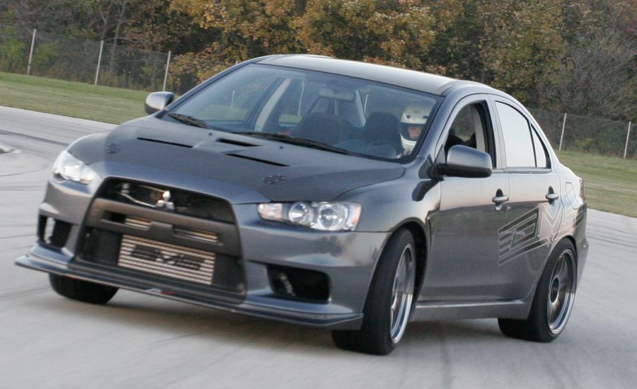 Mitsubishi Lancer Evolution GSR by AMS Performance