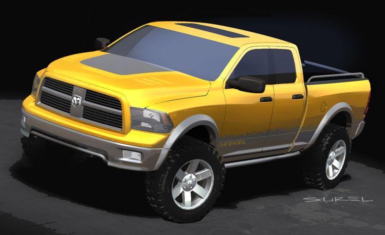 Mopar Underground Dodge Ram Concepts