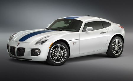 Pontiac G8 and Solstice Concepts for SEMA