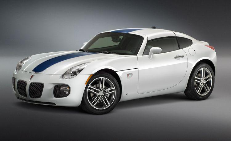 Pontiac G8 and Solstice Concepts for SEMA