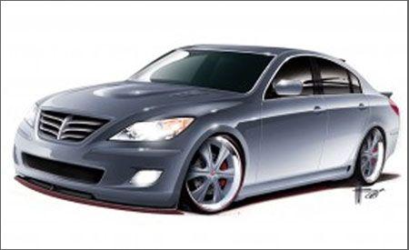 RKSport Hyundai Genesis Sedan