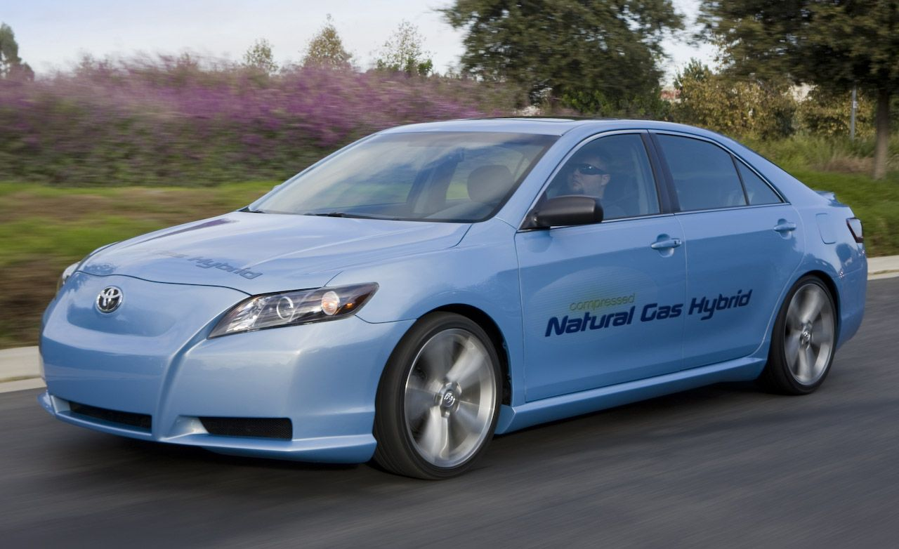 Toyota Camry CNG Hybrid Concept