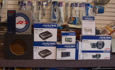 Alpine Sound System Install