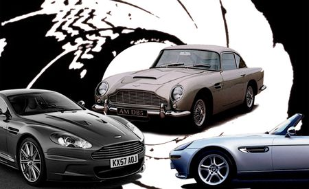 Double-O Slow? Car and Driver Tests James Bond's Rides