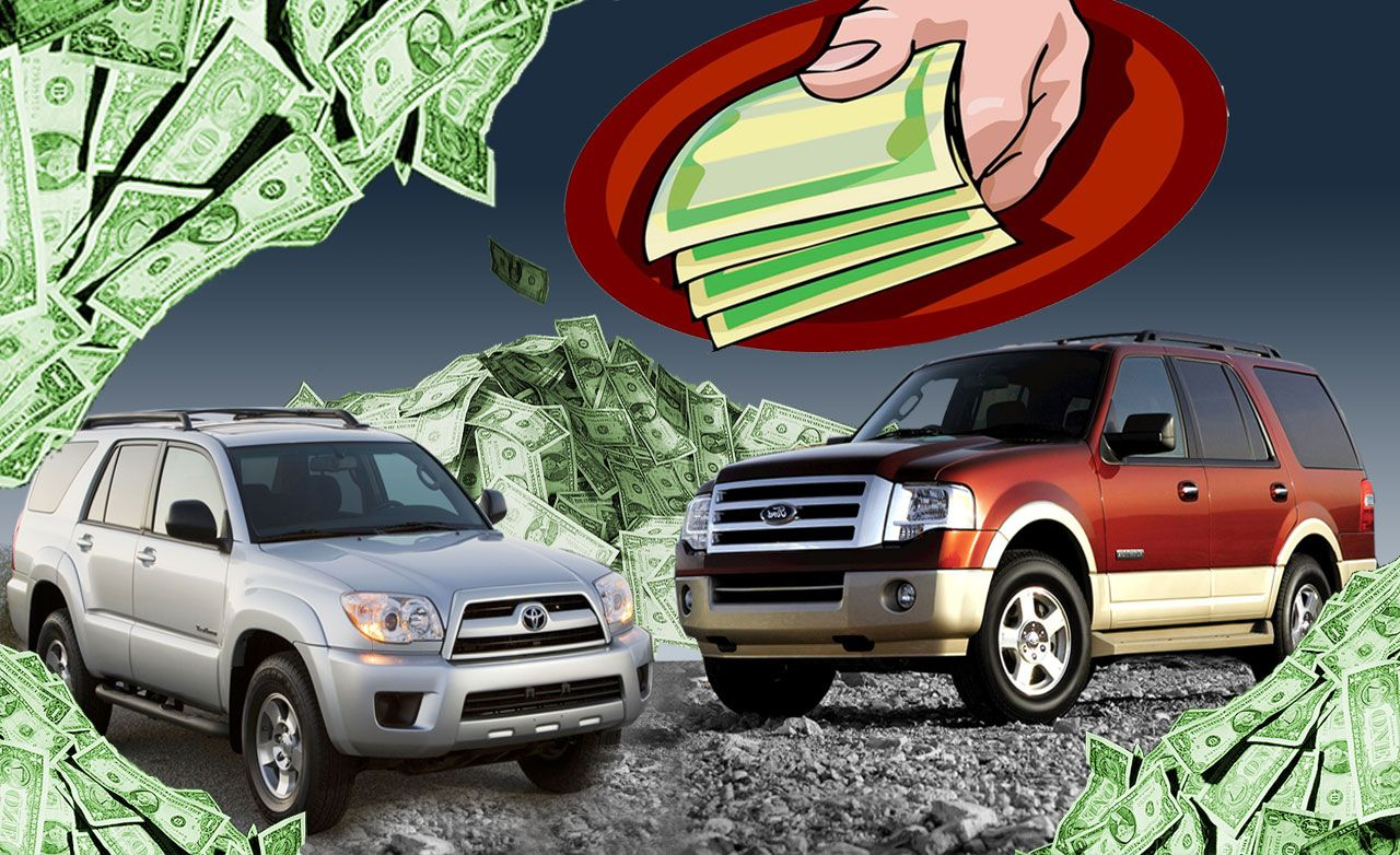 Gas-Guzzling SUVs: Bombs or Bargains?
