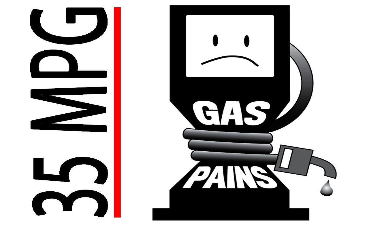 Gas Pains: Destination: 35 MPG