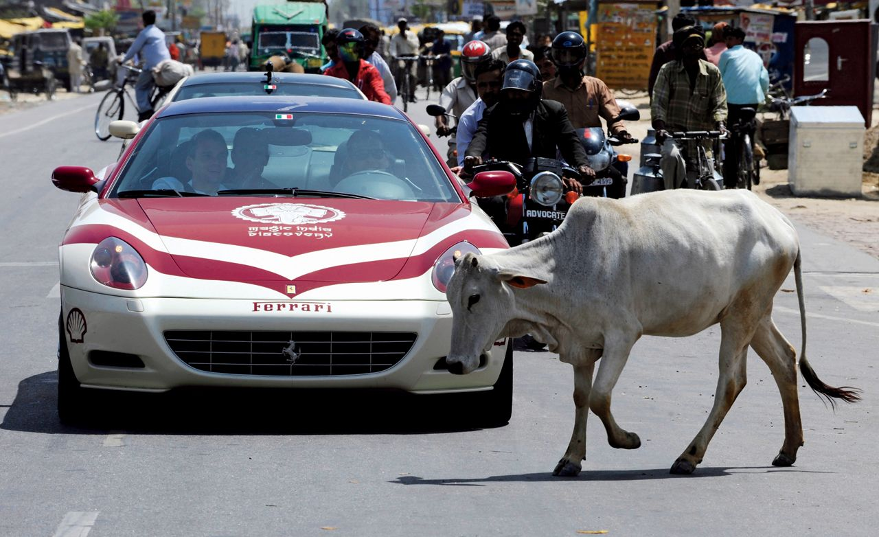 India on 533 Horsepower a Day