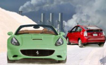 Save the Earth: Drive a Ferrari