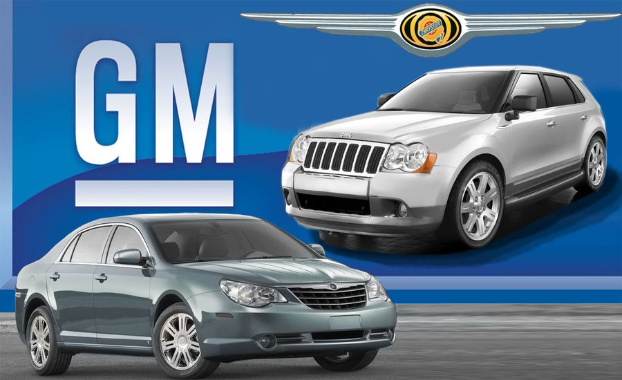 The Future if GM Buys Chrysler