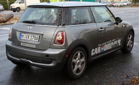 2009 Mini Cooper Electric Vehicle