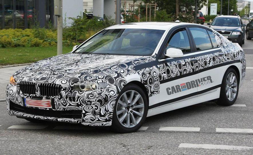 2011 BMW 5-series sedan (spy photo) - Slide 3