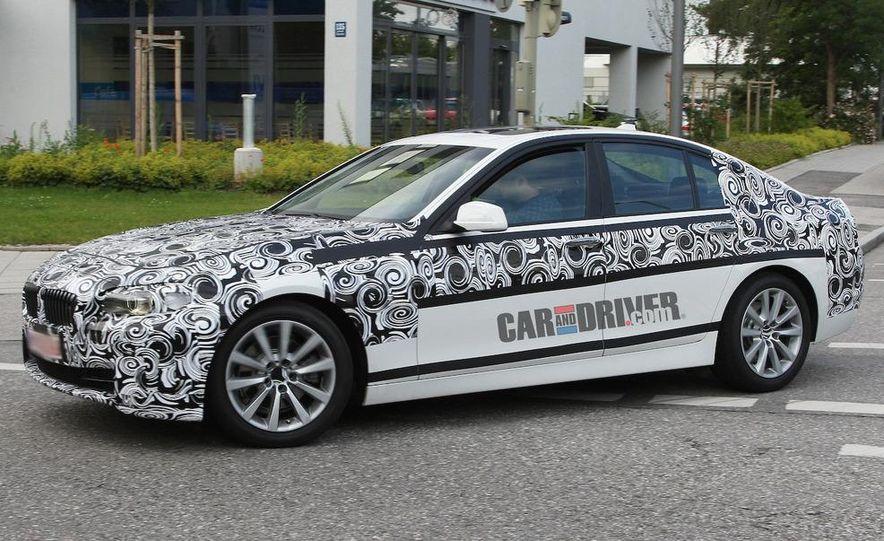 2011 BMW 5-series sedan (spy photo) - Slide 4