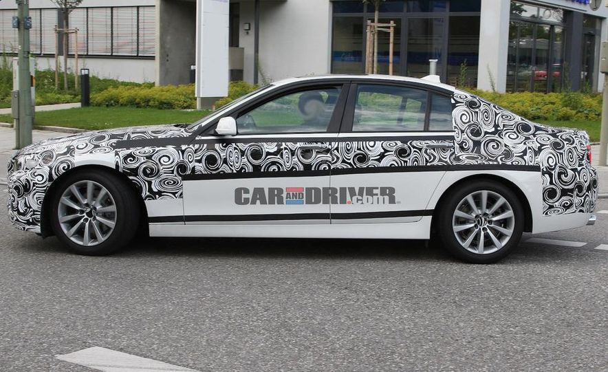 2011 BMW 5-series sedan (spy photo) - Slide 5