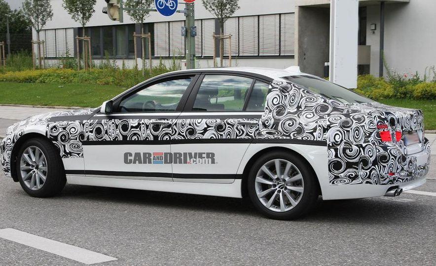 2011 BMW 5-series sedan (spy photo) - Slide 6