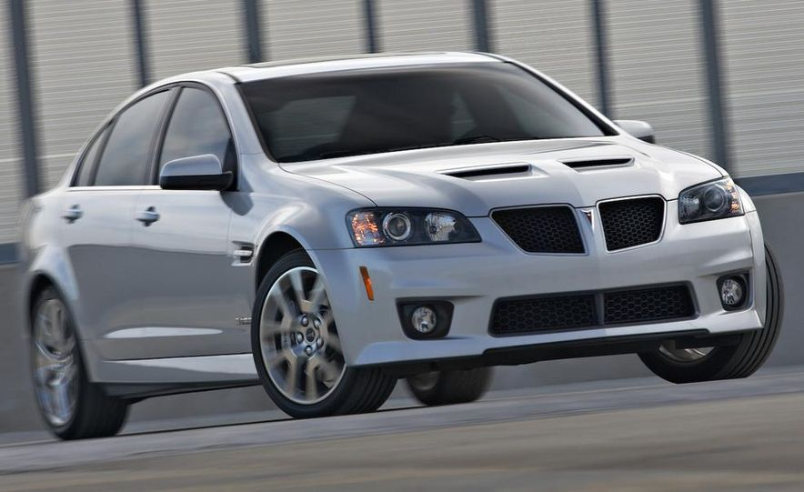 2009 Pontiac G8 GXP - Slide 1