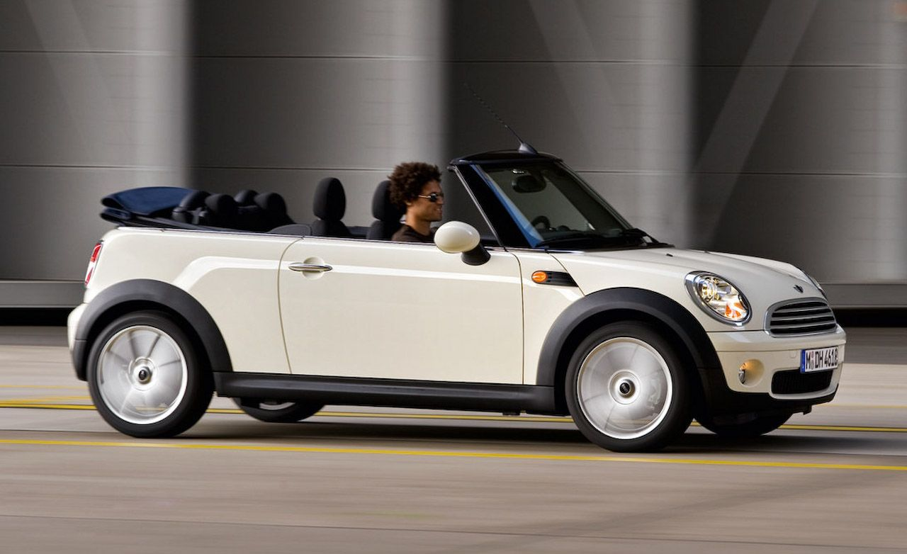 2009 mini cooper convertible review car and driver. Black Bedroom Furniture Sets. Home Design Ideas