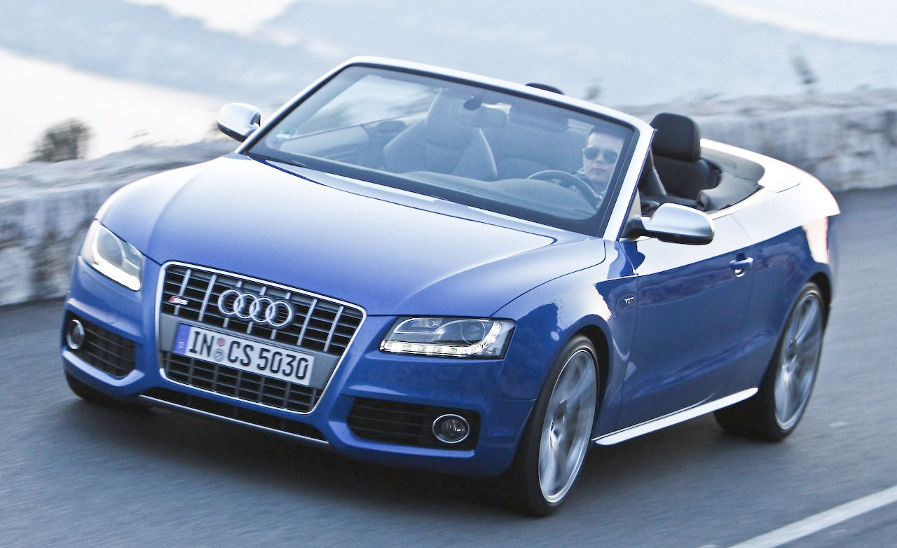 2010 Audi S5 Cabriolet Review Car And Driver