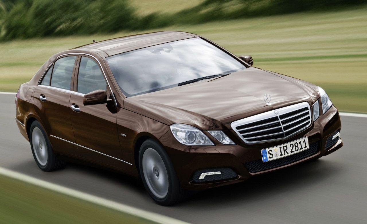 Mercedes e 550 review