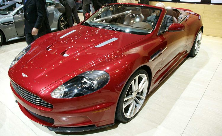 2010 Aston Martin DBS Volante and V12 Vantage