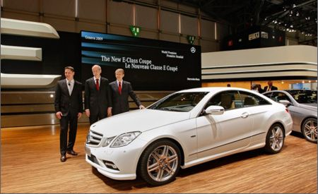 2010 Mercedes-Benz E-class / E350 / E550 Coupe