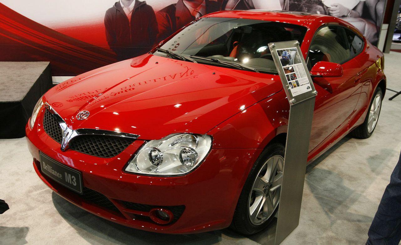 Brilliance Auto M1 M2 M3 Frv Auto Shows News Car And
