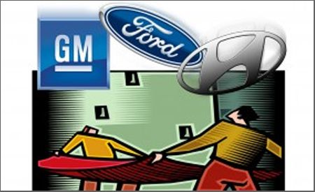 Ford and GM Join Hyundai with Recession-Fighting Buying Programs