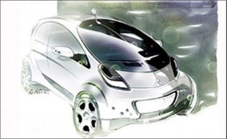 Mitsubishi Prototype i MiEV and i MiEV Sport Air Concept