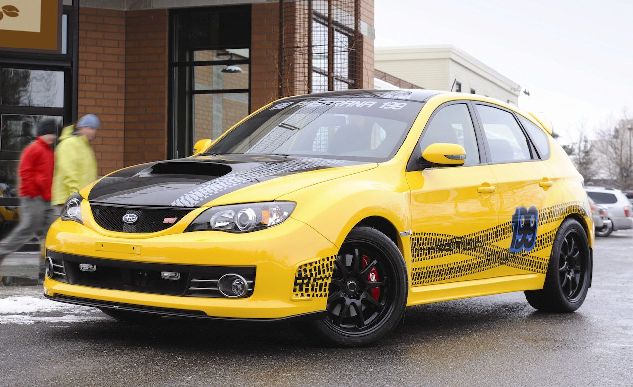 Travis Pastrana Subaru Impreza WRX STI
