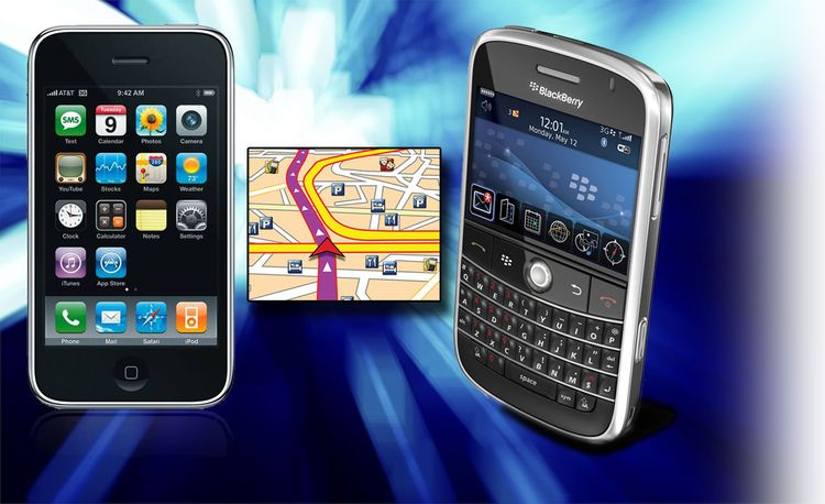 Awesome Automotive Applications for Your iPhone or BlackBerry