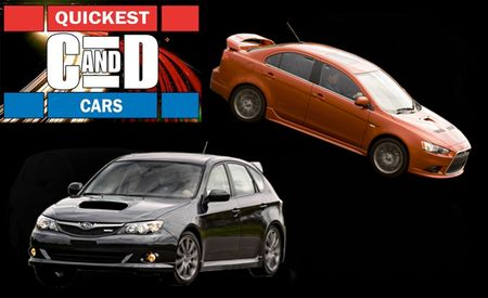 The Quickest Cars of 2009: $25,000 to $30,000