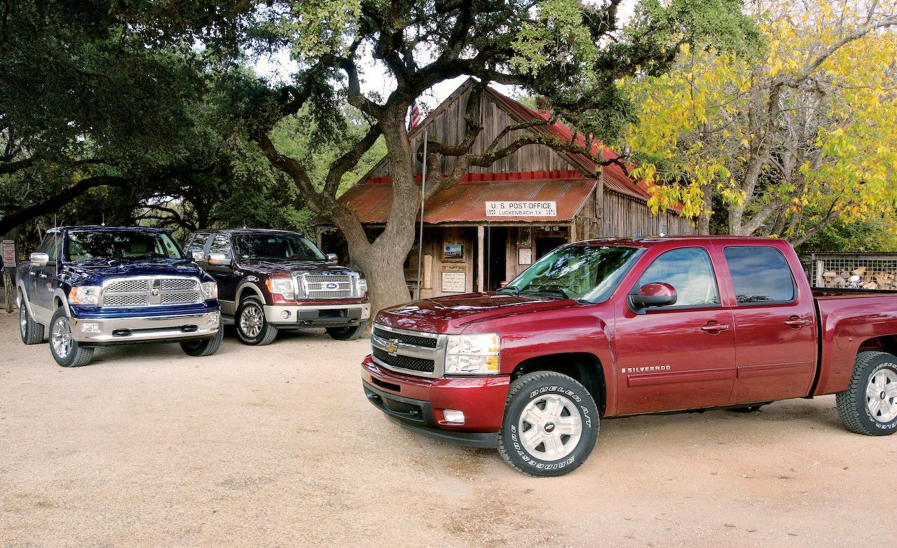Dodge Ram Vs Ford F  And Chevy Silverado