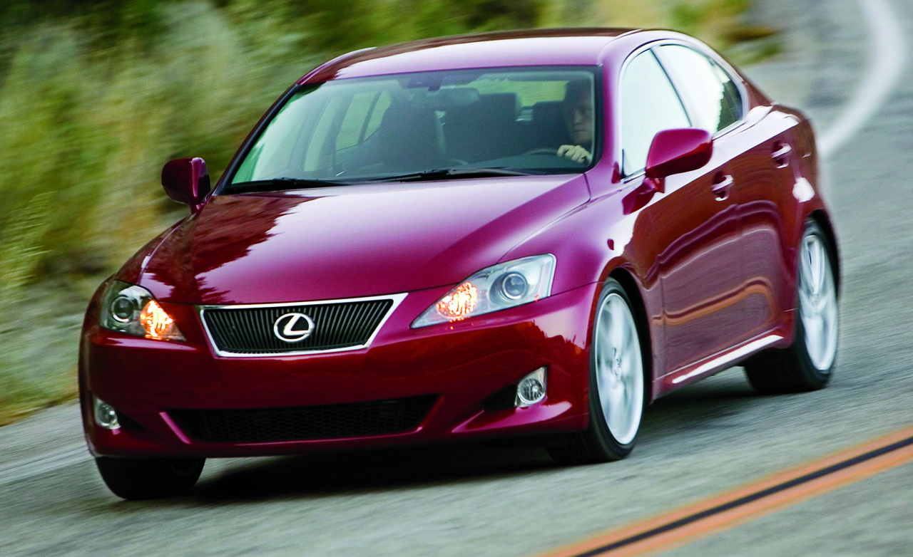 Certified pre owned 2006 2008 lexus is is250 is350 is f feature features car and driver