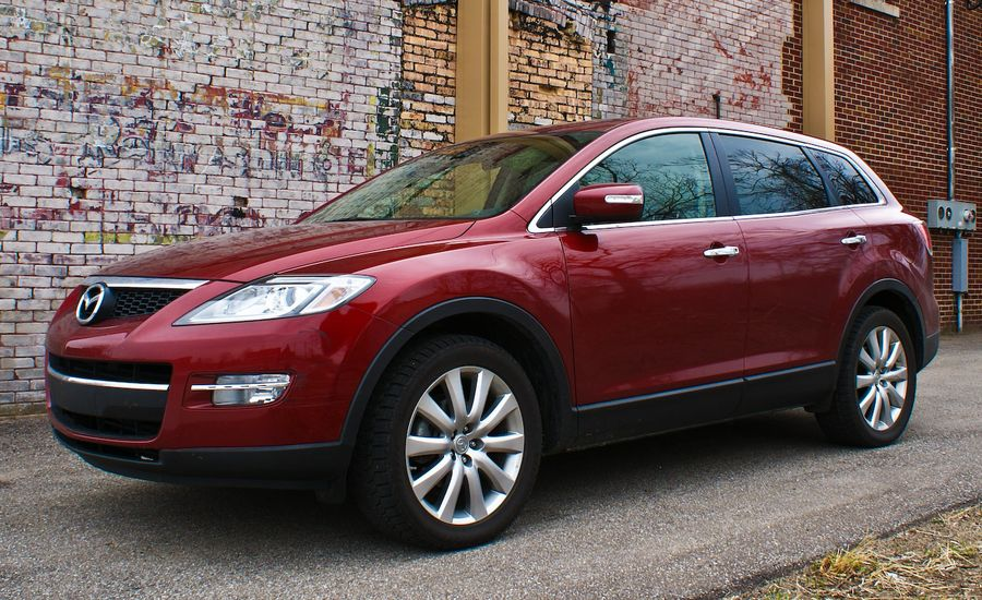 2008 mazda cx 9 awd road test review car and driver. Black Bedroom Furniture Sets. Home Design Ideas