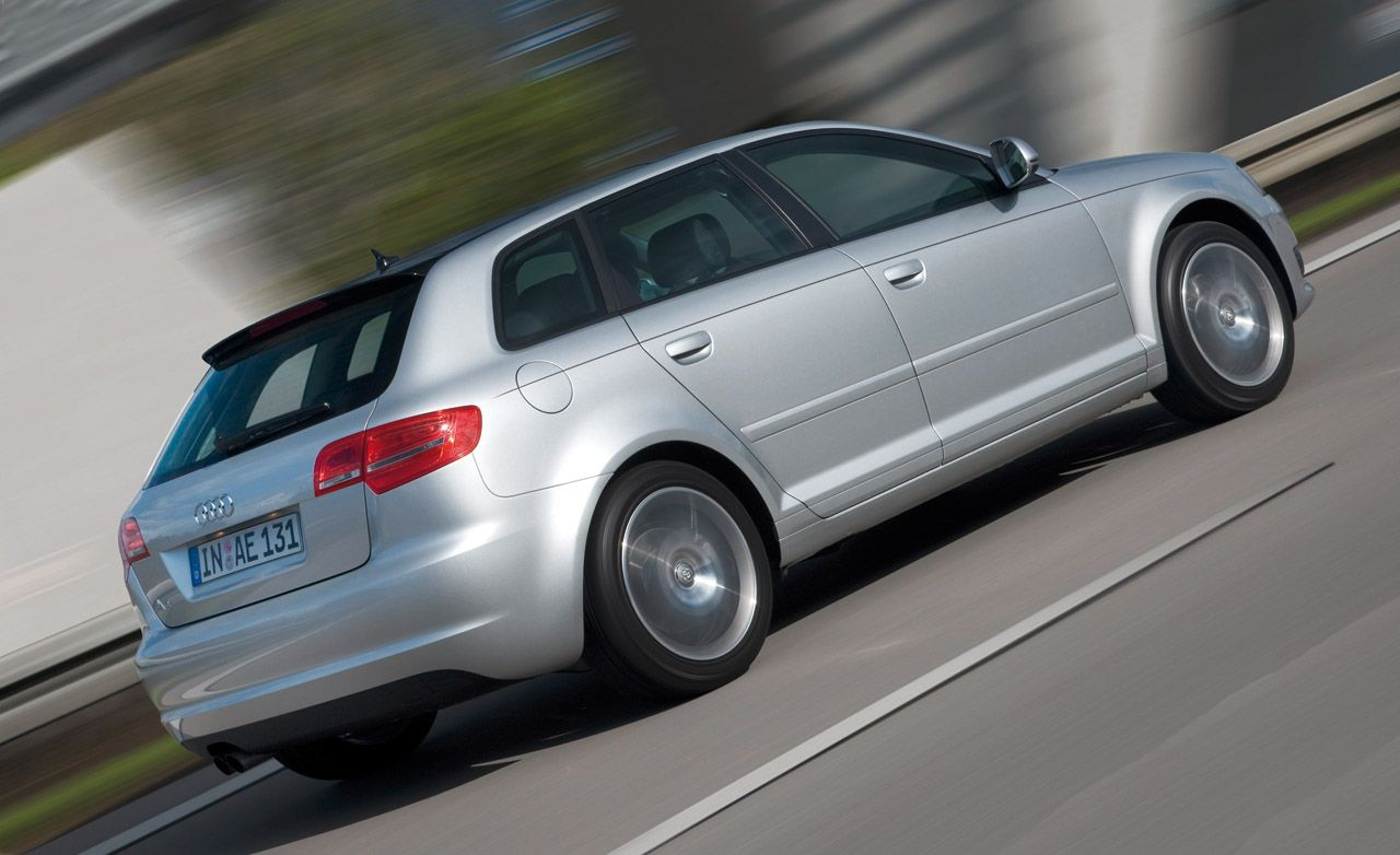 2009 audi a3 2 0t quattro instrumented test car and driver. Black Bedroom Furniture Sets. Home Design Ideas