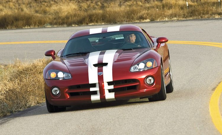 2009 Dodge Viper SRT10 Track Romp