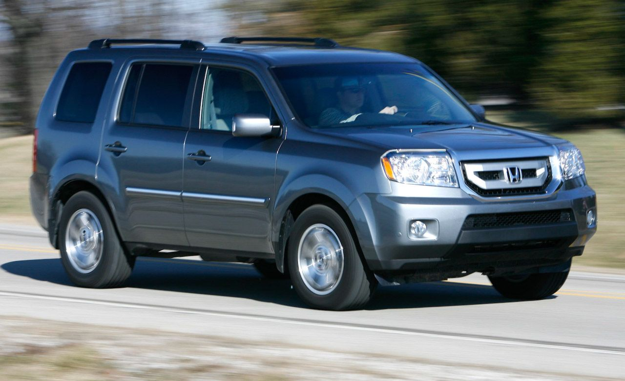 2009 honda pilot touring 4wd for Honda pilot images