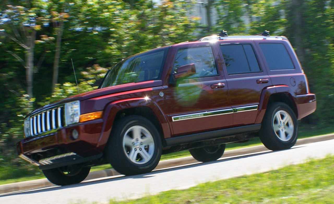 2009 jeep commander limited road test – review – car and driver
