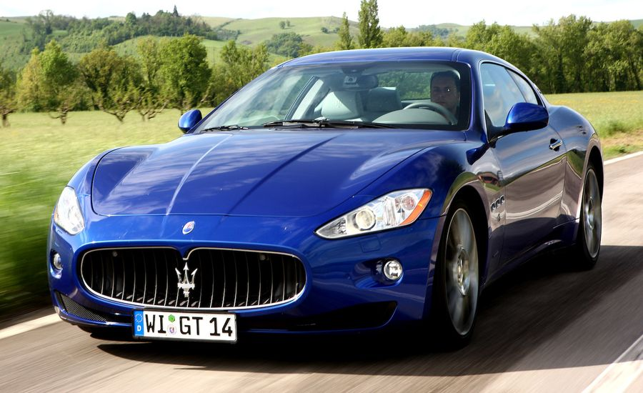 2009 maserati granturismo s auto review car and driver. Black Bedroom Furniture Sets. Home Design Ideas