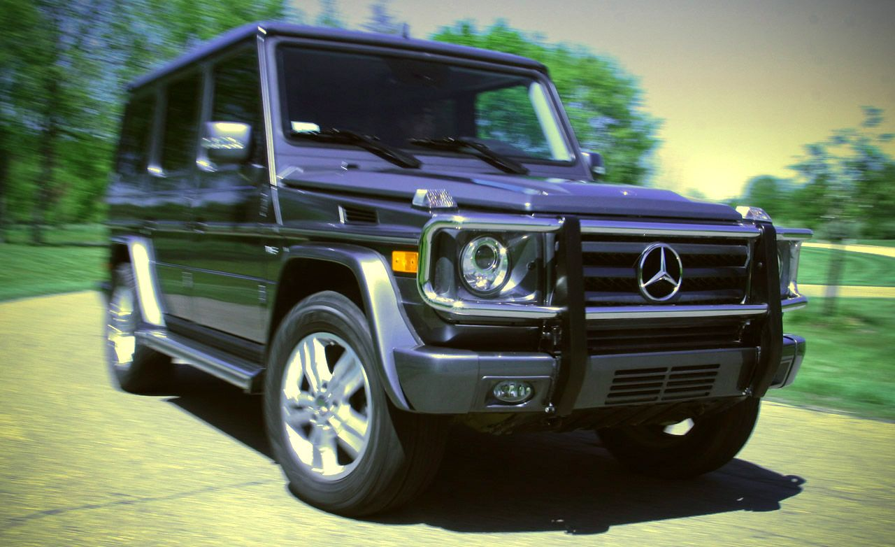 2013 Mercedes Benz G550 Test Review Car And Driver