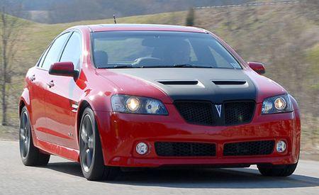 2009 Pontiac G8 GT SLP Firehawk