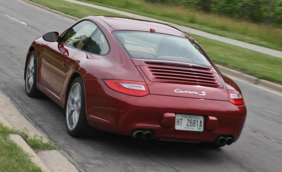 2009 porsche 911 carrera s manual instrumented test. Black Bedroom Furniture Sets. Home Design Ideas
