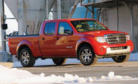 2009 Suzuki Equator Crew Cab Sport 4WD
