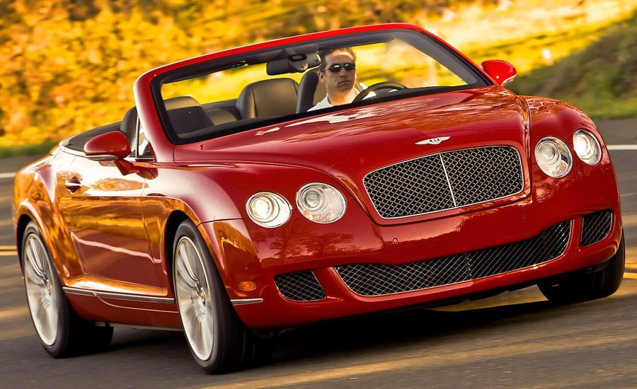 2010 bentley continental gtc speed review car and driver. Black Bedroom Furniture Sets. Home Design Ideas
