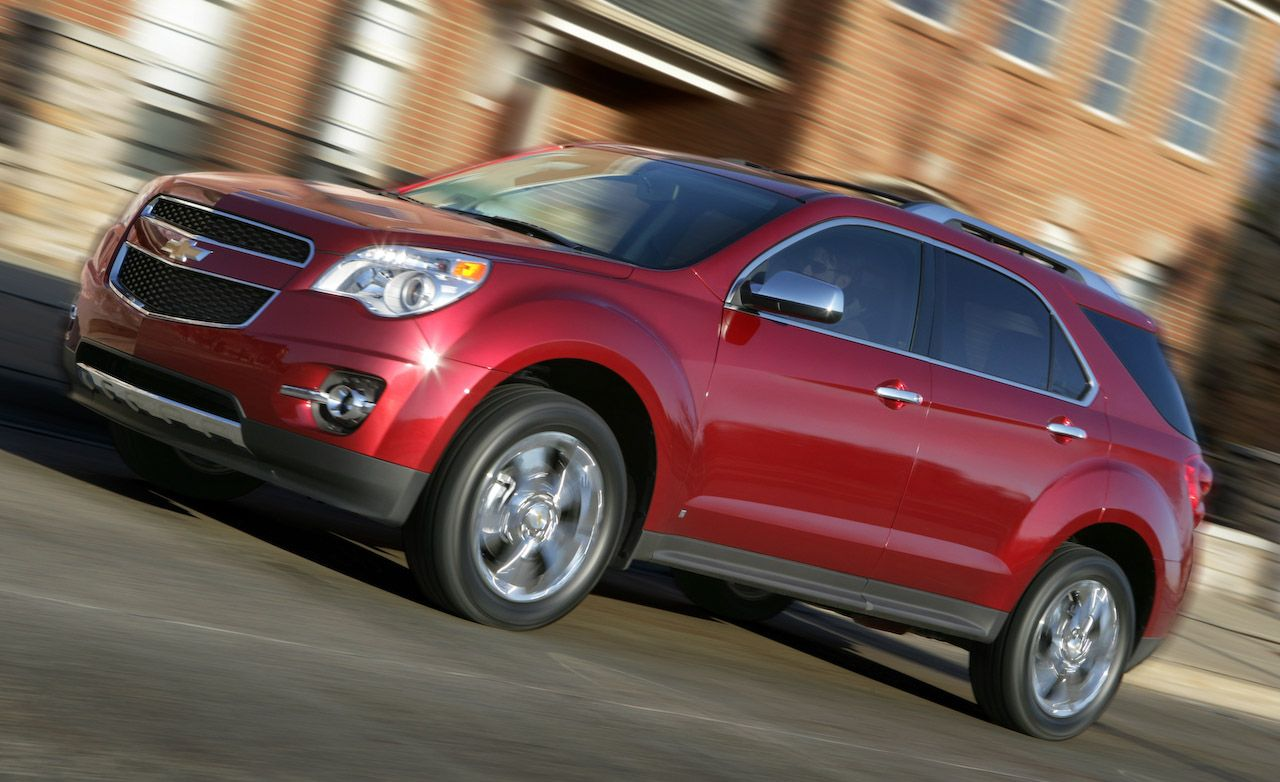 2010 Chevrolet Equinox 8211 Review 8211 Car And Driver