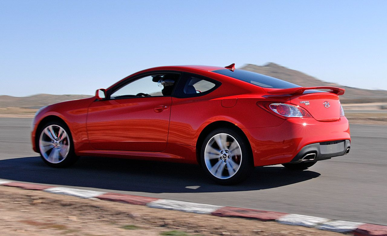 2010 Hyundai Genesis Coupe 2 0t Turbo Instrumented Test Car And Driver