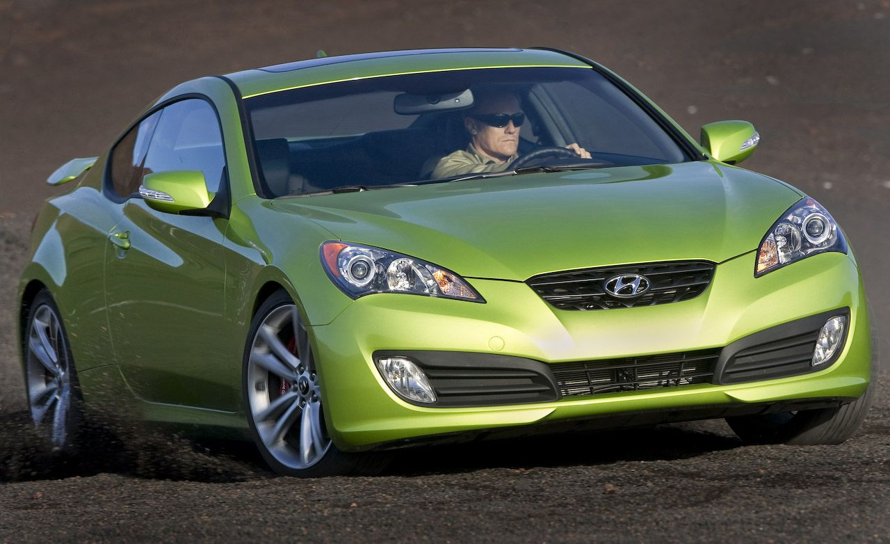 2010 Hyundai Genesis Coupe 3 8 V6 Road Test Review Car And Driver