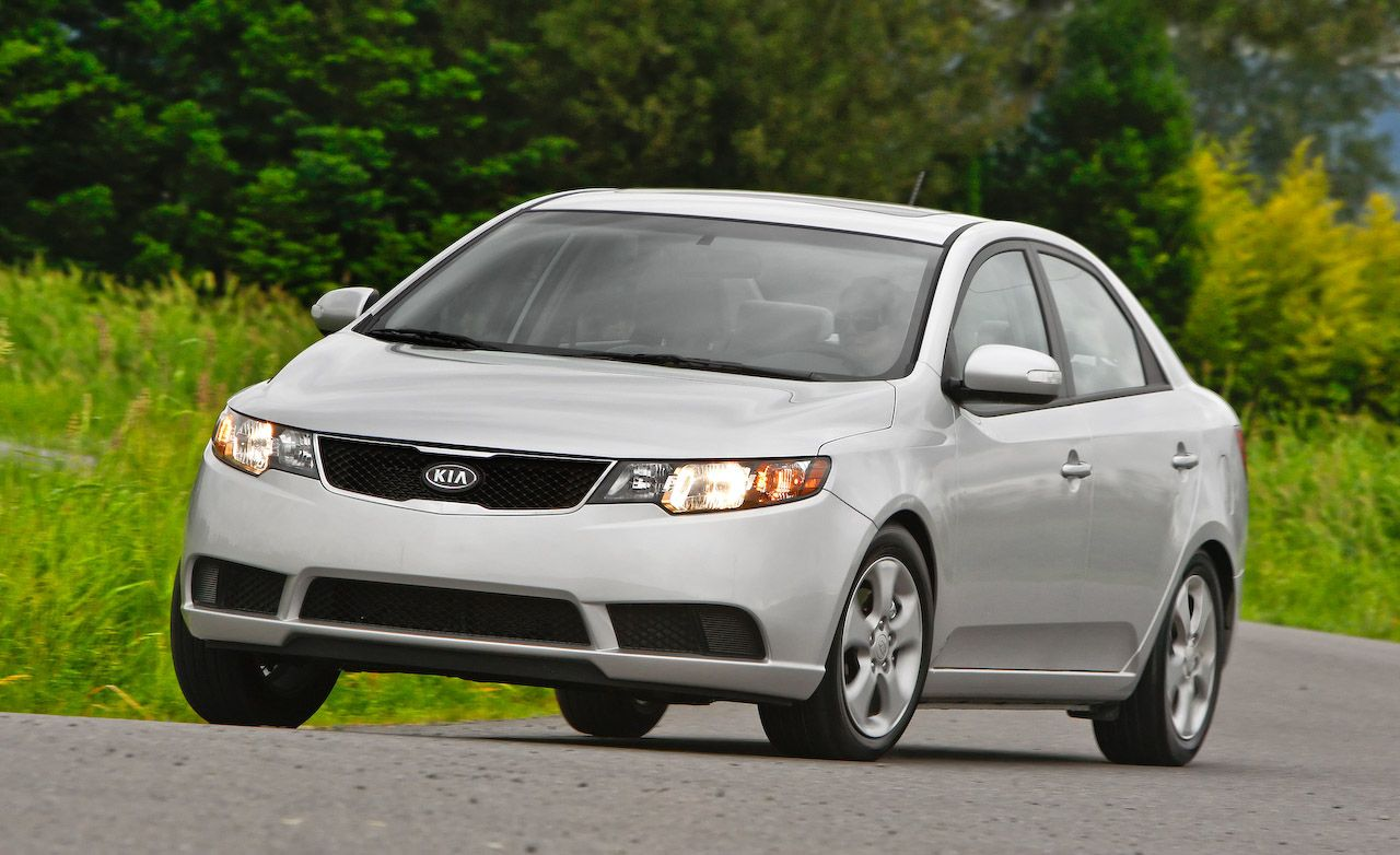 2010 kia forte instrumented test car and driver. Black Bedroom Furniture Sets. Home Design Ideas